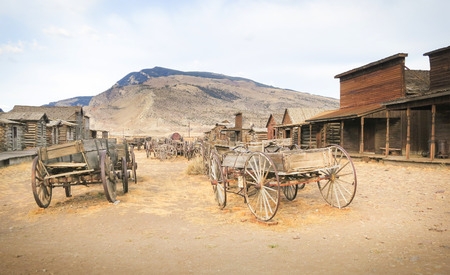 cody: Old west, Old trail town, Cody, Wyoming, United States Editorial