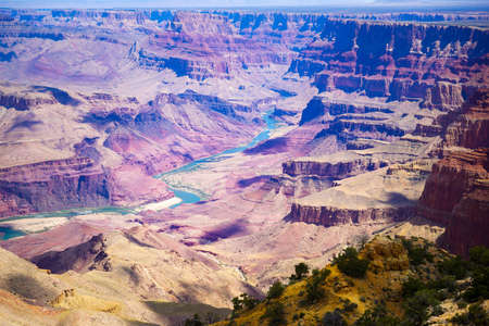 grand canyon national park: Grand Canyon National Park seen from Desert View, Arizona, USA Stock Photo
