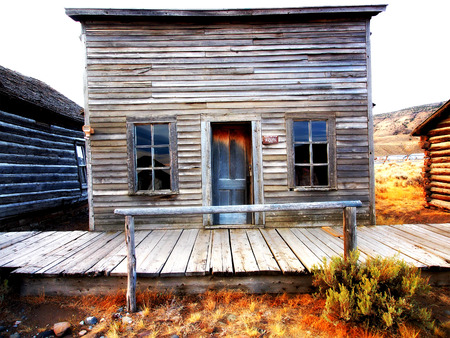 ghost town: Ghost Town, Cody, Wyoming, United States