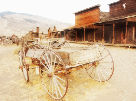 cody: Old west, Old trail town, Cody, Wyoming, USA Editorial
