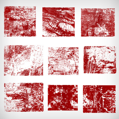 rusty: Different grunge frames vector