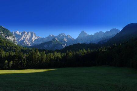slovenian: Slovenian alps, Slovenia, Europe Stock Photo