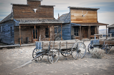 western: Ghost Town, Cody, Wyoming, United States