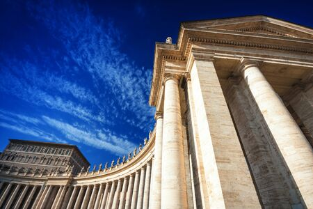 st peter s square: Saint Peters Square, Vatican City, Rome, Italy