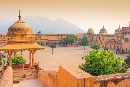 jagmandir: The Amber Fort, Rajasthan, Jaipur, India