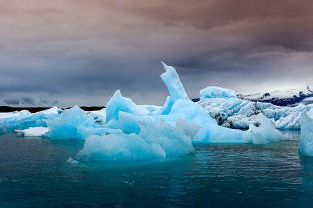 Jokulsarlon lagoon in Iceland Stock Photo