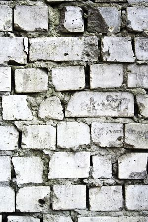 Background from a white brick wall photo