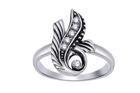 Ring  with gemstones  isolated on white background Stock Photo - 5044232