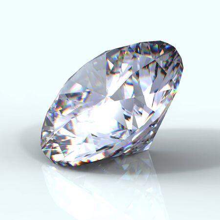 round brilliant: 3 � Ronda de brillante corte de diamantes
