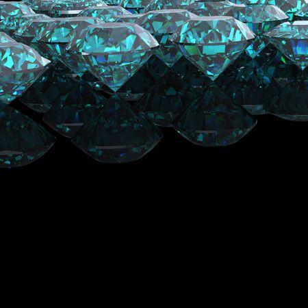 topaz:  Sky blue topaz.Jewelry background Stock Photo