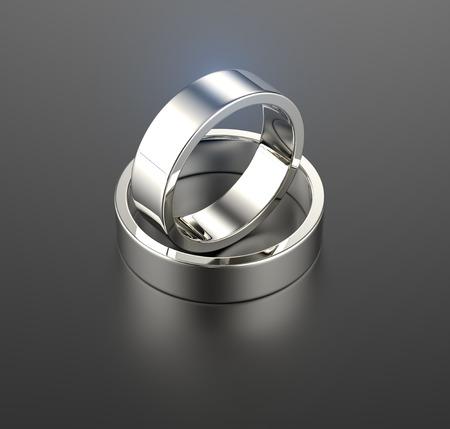 Wedding Ring with diamond  Jewelry background