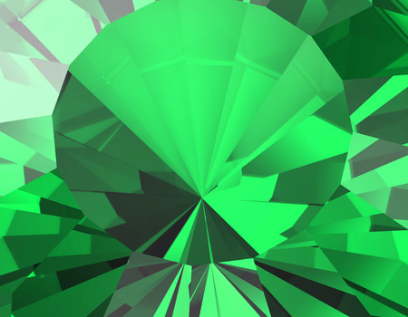 facet: Background of jewelry gemstone. Facet.  Emerald