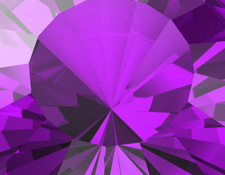 facet: Background of jewelry gemstone. Facet. Amethyst