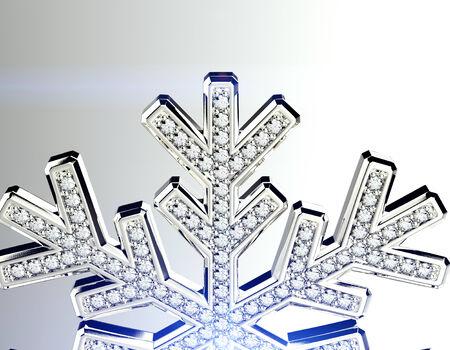 flawless: Diamond snowflake.
