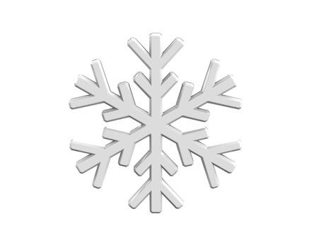 flawless: Diamond snowflake. Christmas background Stock Photo