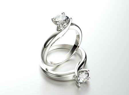 ダイアモンドをリングします。宝石の背景
