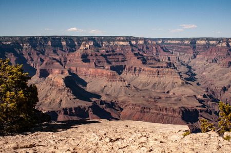 Grand Canyon National Park North Rim Magnificent Landscape, Arizona, United States. The view of the Grand Canyon, panoramic photography.