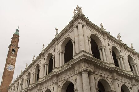The Palladian Basilica is a public building overlooking Piazza dei Signori in Vicenza, Italy.