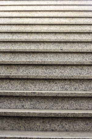 Detail of the marble stairs of the underpass leading to the cycle path in the Porta Nuova station in Verona, Italy.
