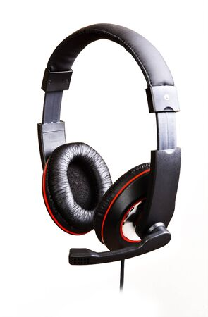 Headphones isolated on a white background Stock Photo - 10439720