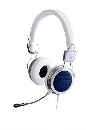 Headphones isolated on a white background Stock Photo - 10439715