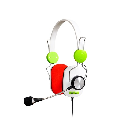 Headphones isolated on a white background Stock Photo - 10708337