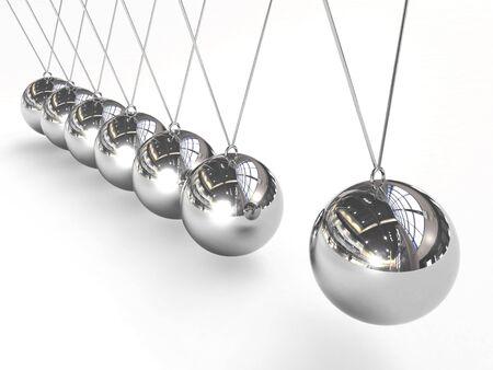 Perpetual-motion balls