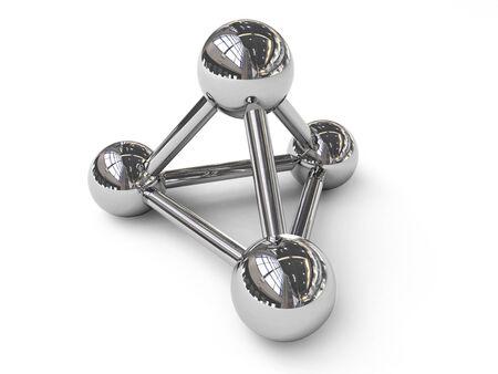 nuclei: Pyramid molecular structure