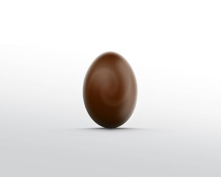 chocolate egg: Chocolate egg Stock Photo