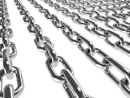 metal: Metal chains