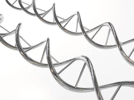 chrome: Chrome DNA spirals