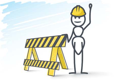 Construction worker Illustration