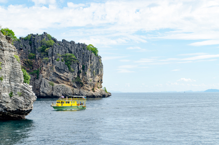 The Sea and Mountain at Koh ha, Similan No.5, a Group of Similan Islands in The Andaman Sea Thailand.