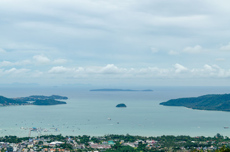 Top View of The Phuket Island View Point, Thailand