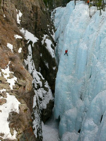 ouray: Ice climbing in Ouray, CO