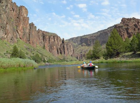 omnibus: The Owyhee River is located in the Owyhee-Bruneau Wilderness, a newly designated American wilderness.  This new wilderness is centered on the Owyhee River and its tributaries in the southwest part of Idaho.  It was created by the 2009 Omnibus National Pub Stock Photo