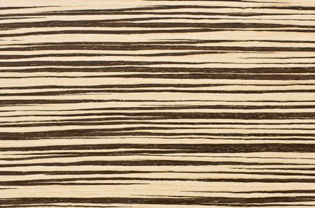 Close-up zebra wood texture for background photo