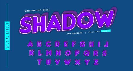 alphabet text effect conceptual design, modern style, element design vector, easy custom template, can be use promotion, event, seasonal sale and more
