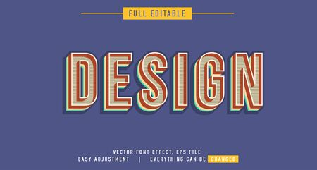 Text effects that can be easily edited, retro style, handwritten, artistic and interesting classics, you can use them for titles, quotes, promotional design elements and much more