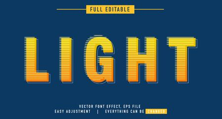 Text effects that can be easily edited, neon styles, luminous and attractive writing, you can use them for titles, quotes, promotional design elements and much more Stock fotó - 137995962