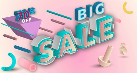 sale banner background design with a modern look you can use it for promotional or other purposes