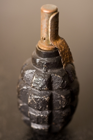 world war two: World War Two Soviet hand grenade  Stock Photo