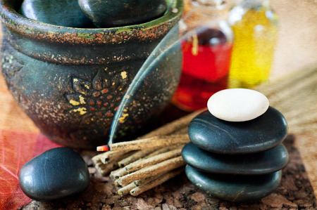 incense sticks: Incense sticks and stones zen