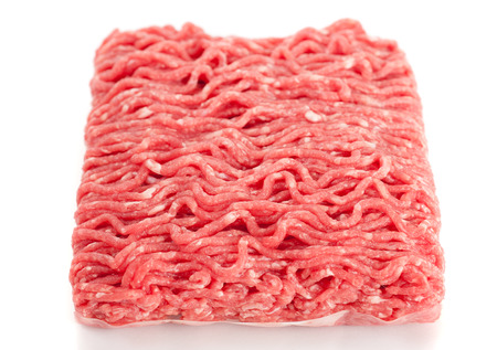 minced meat: Minced beef