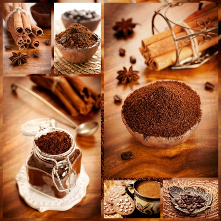 coffee collage photo