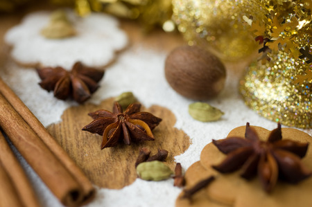 christmas scent: Scent of Christmas Stock Photo