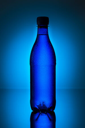 Plastic water bottle Stock Photo - 22885226