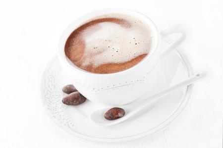 cacao beans: Cacao de los granos de cacao rallado y el cacao en grano