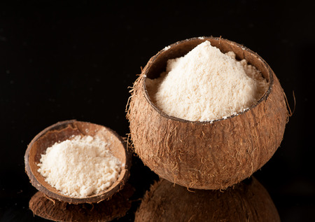 the coconut: Harina de coco sin gluten