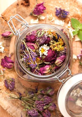 angustifolium: Dried Herbs and flowers